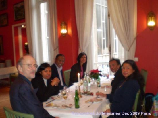 Rencontre décembre 2009, Paris