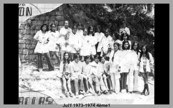 Jul'f 1973-74, 4ème1