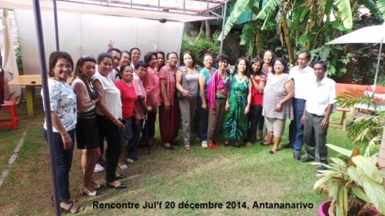 Rencontre Jul'f 20 décembre 2014, Antananarivo