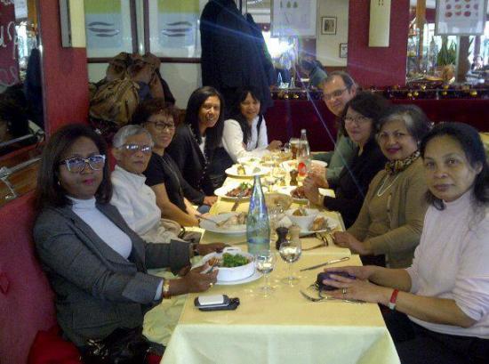 Rencontre janvier  2012- Paris, avec Mme Rakoto Ravalotsalama